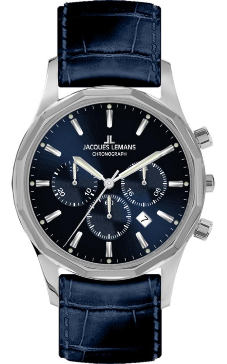1-2021C  кварцевые наручные часы Jacques Lemans для мужчин  1-2021C