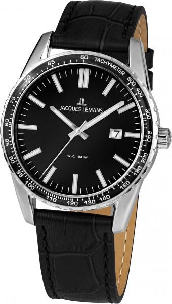 1-2022A  кварцевые наручные часы Jacques Lemans для мужчин  1-2022A
