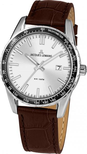 1-2022B  кварцевые наручные часы Jacques Lemans для мужчин  1-2022B