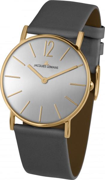 1-2030E  унисекс кварцевые наручные часы Jacques Lemans  1-2030E