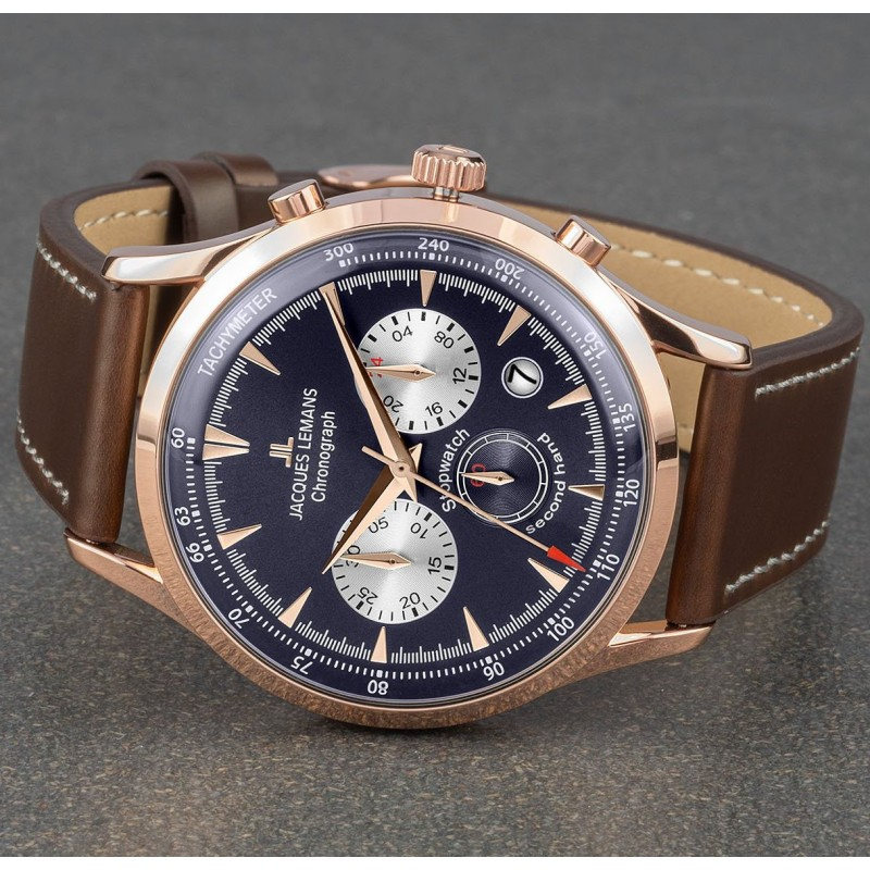 1-2068G  часы Jacques Lemans  1-2068G