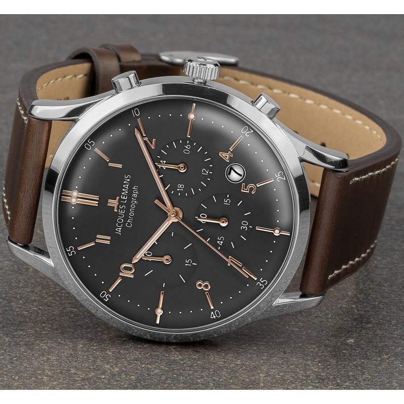 1-2068O  часы Jacques Lemans  1-2068O