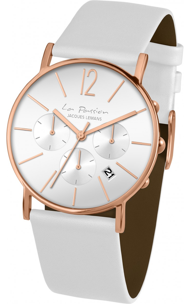 LP-123F  унисекс кварцевые наручные часы Jacques Lemans  LP-123F