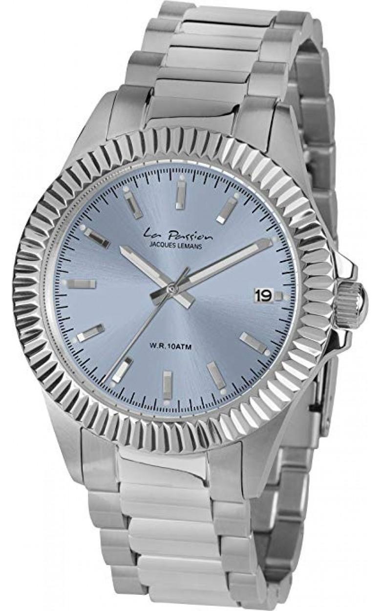 LP-125G  кварцевые наручные часы Jacques Lemans для женщин  LP-125G