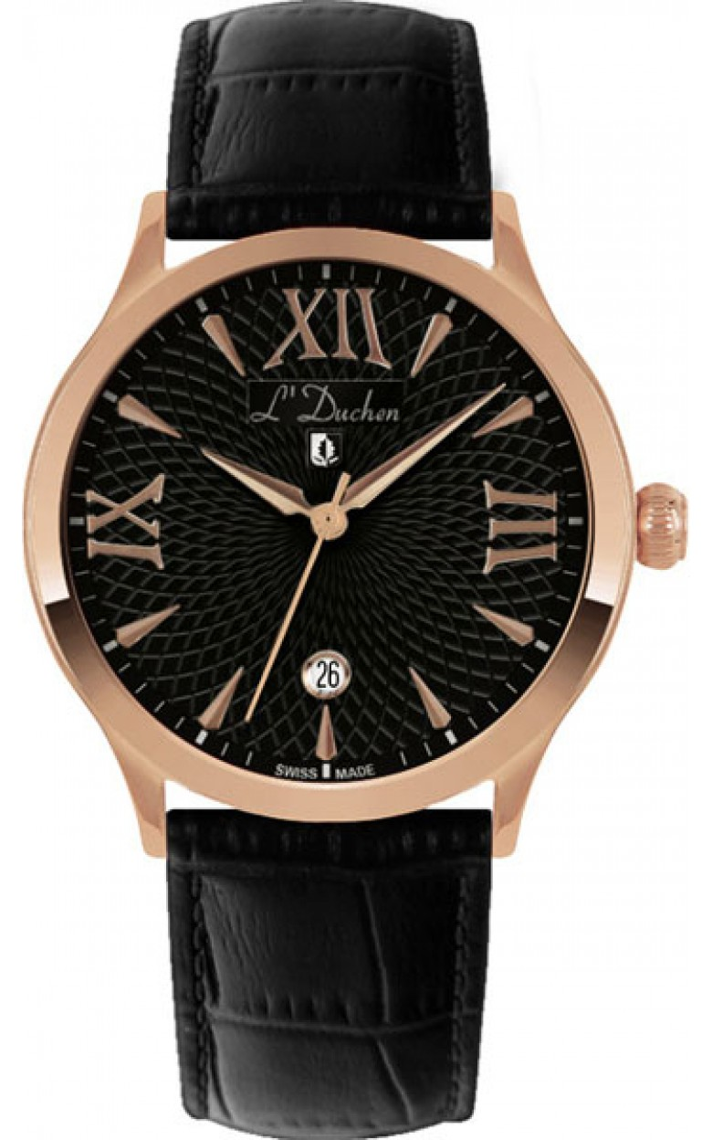 D 131.41.11 швейцарские кварцевые наручные часы L