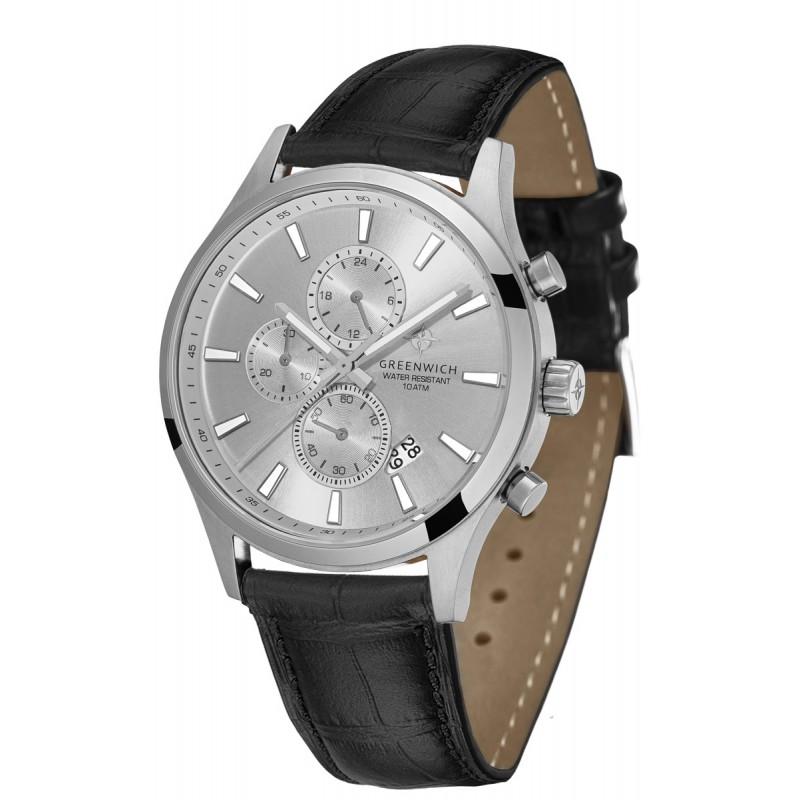 GW 053.11.33  кварцевые наручные часы Greenwich для мужчин  GW 053.11.33