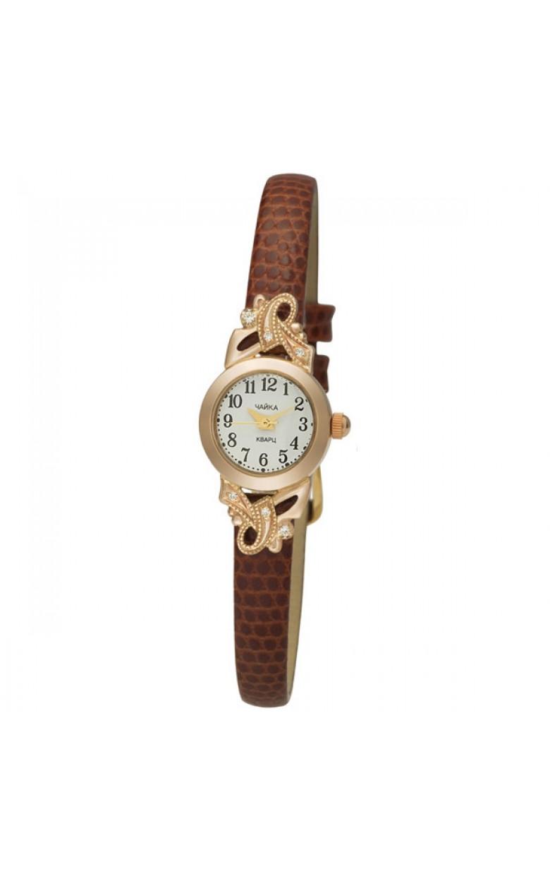 44130-156.205 Часы женские кварцевые золото 585* +вст-ка серебро 925* 44130-156.205