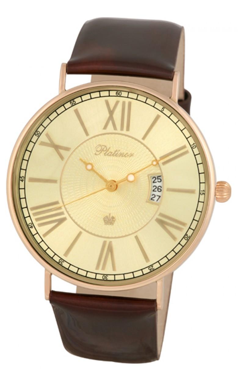 """56750.420  кварцевые наручные часы Platinor """"Амур""""  56750.420"""