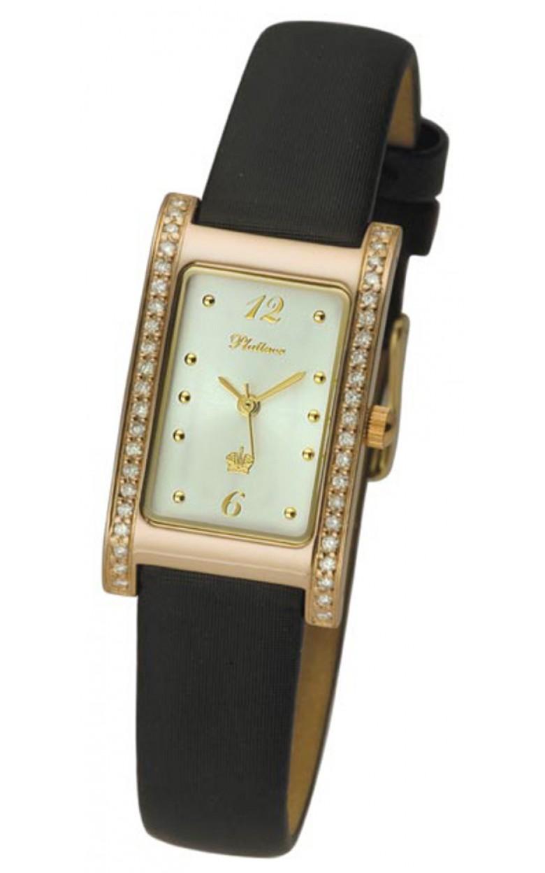 """200151.206 Часы наручные """"Камилла"""" женские кварцевые золото 585* вставка брилл 200151.206"""