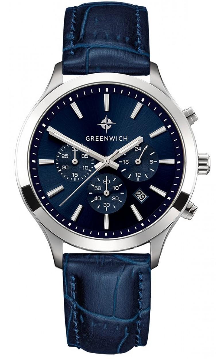GW 043.16.36  кварцевые наручные часы Greenwich для мужчин  GW 043.16.36