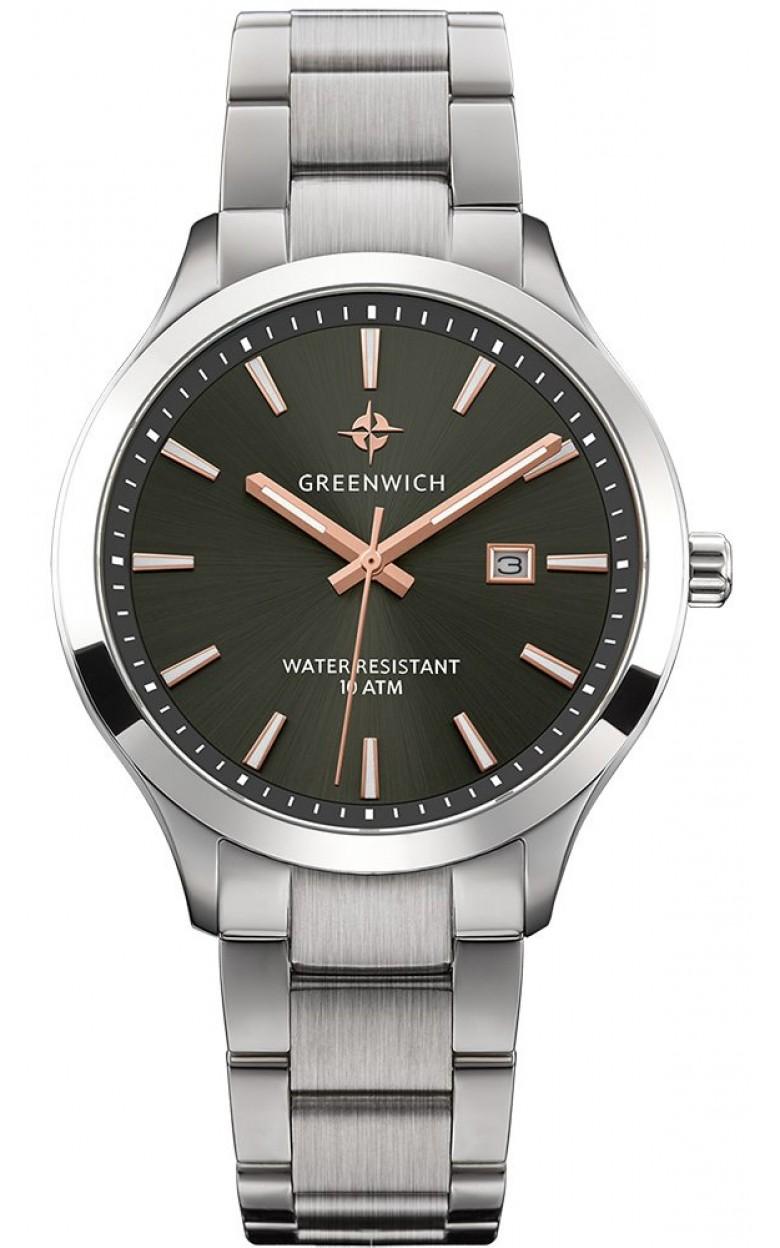 GW 041.10.34  мужские кварцевые наручные часы Greenwich  GW 041.10.34