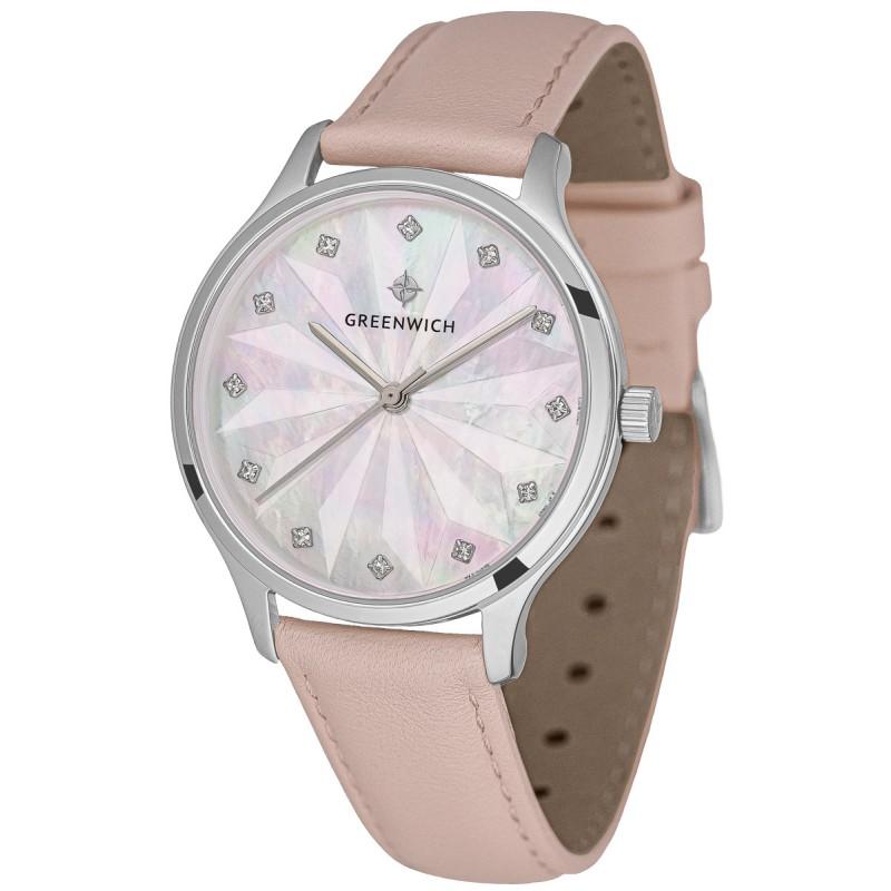 GW 341.10.54 S  женские кварцевые наручные часы Greenwich  GW 341.10.54 S