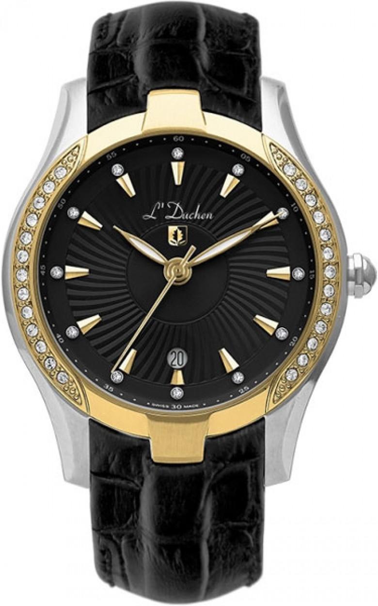 D 201.31.31 швейцарские женские кварцевые наручные часы L