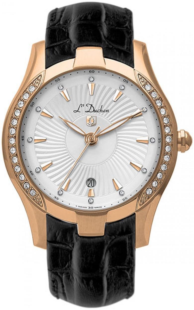 D 201.41.33 швейцарские женские кварцевые наручные часы L
