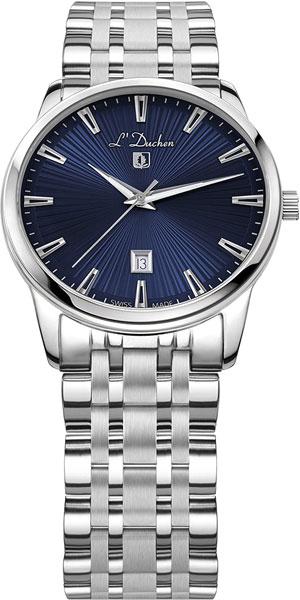 D 751.10.37 швейцарские кварцевые наручные часы L