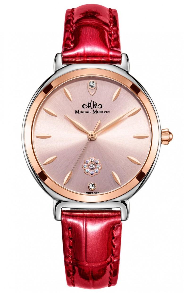 """1837S5L2  кварцевые наручные часы Mikhail Moskvin Elegance """"Elegance"""" с сапфировым стеклом 1837S5L2"""