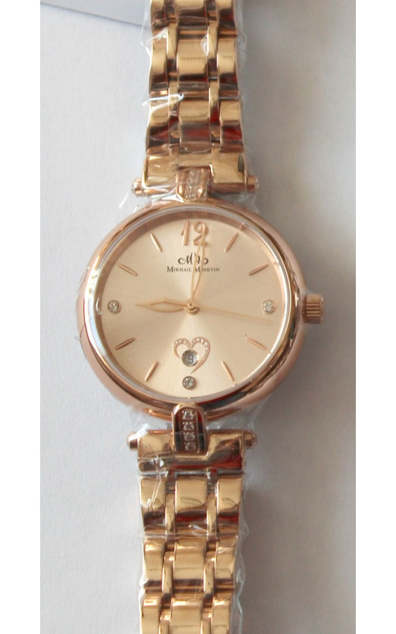 "1923S3B2  кварцевые наручные часы Mikhail Moskvin Elegance ""Elegance"" с сапфировым стеклом 1923S3B2"