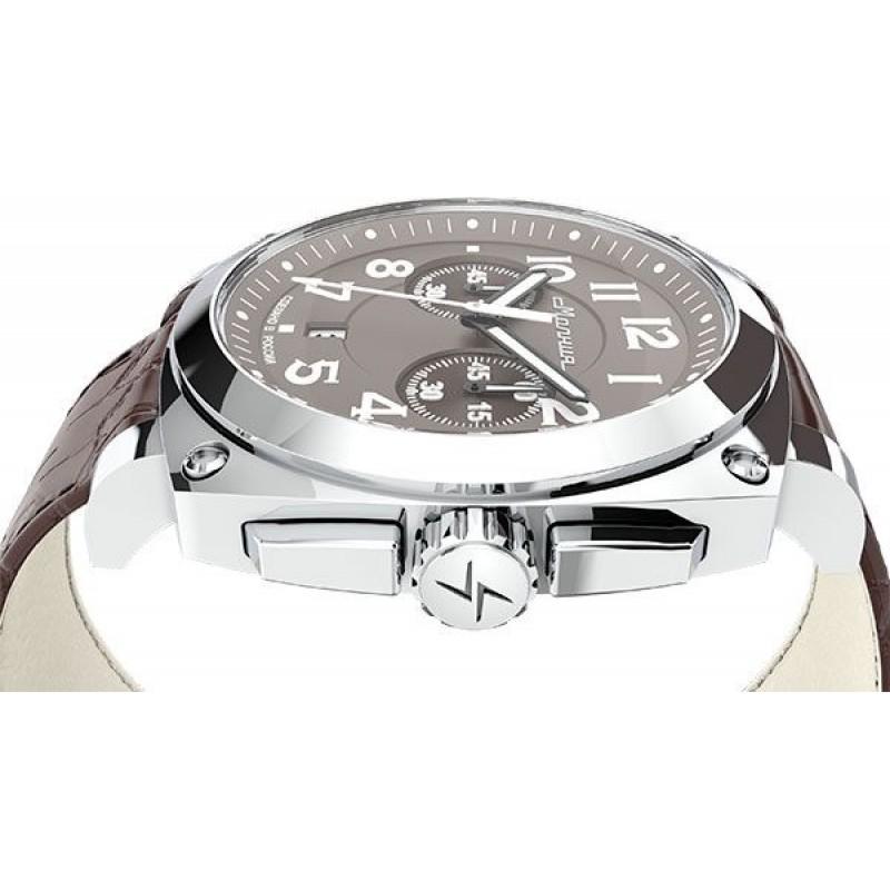 """0020107  кварцевые с функциями хронографа наручные часы Молния """"Evolution"""" с сапфировым стеклом 0020107"""