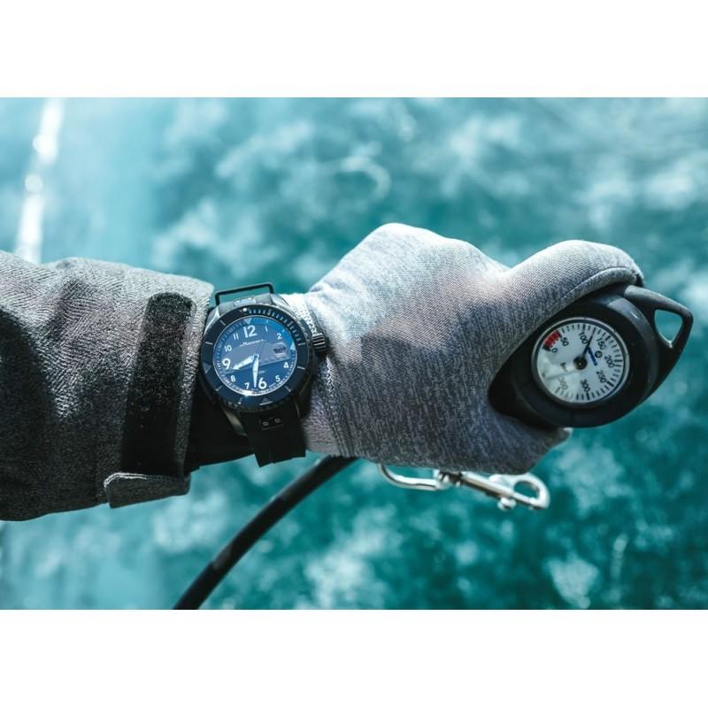 """00801001 российские водонепроницаемые мужские механические наручные часы Молния """"Байкал""""  00801001"""