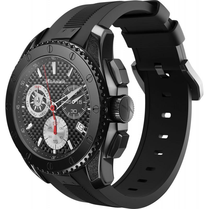 """1001002 российские кварцевые наручные часы Молния """"Energy"""" для мужчин  1001002"""