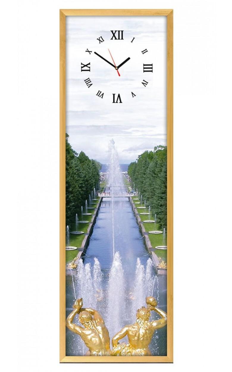 03-010 Настенные часы из песка  03-010 Петергоф