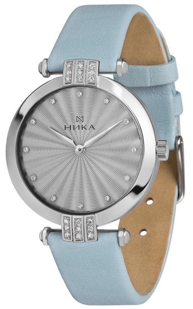 0111.2.9.76A Часы наручные кварцевые Ника серебро 925* вставка фианит 0111.2.9.76A