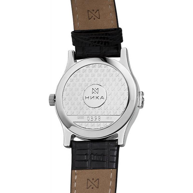1020.2.9.37В Часы наручные кварцевые Ника серебро 925* вставка фианит 1020.2.9.37В