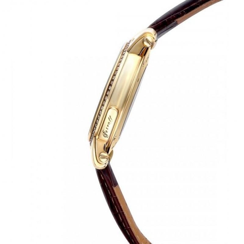 """P031-68/2824 Часы наручные """"Petroff"""" золото 750*ж.вст/брилл.0,75ct"""