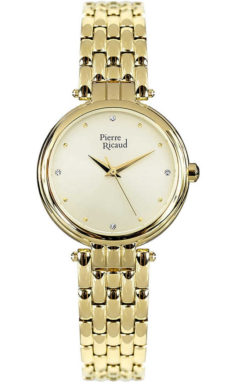 P22010.1141Q  женские кварцевый хронограф часы Pierre Ricaud  P22010.1141Q