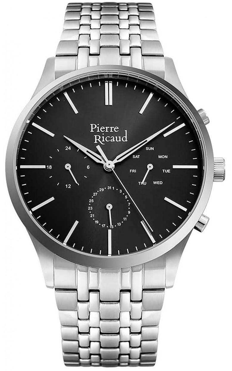 P60027.5116QF  кварцевые с функциями хронографа наручные часы Pierre Ricaud  P60027.5116QF