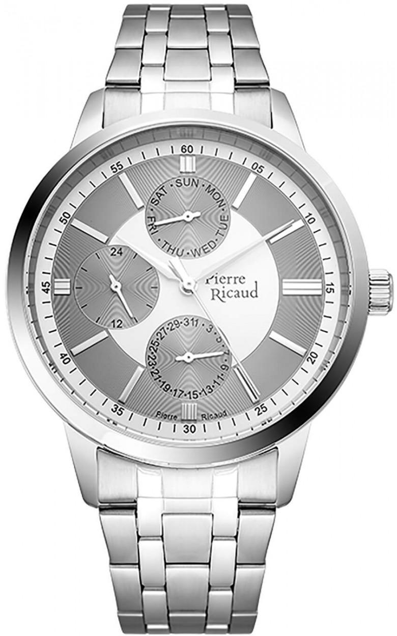 P97238.5113QF  мужские кварцевый хронограф часы Pierre Ricaud  P97238.5113QF