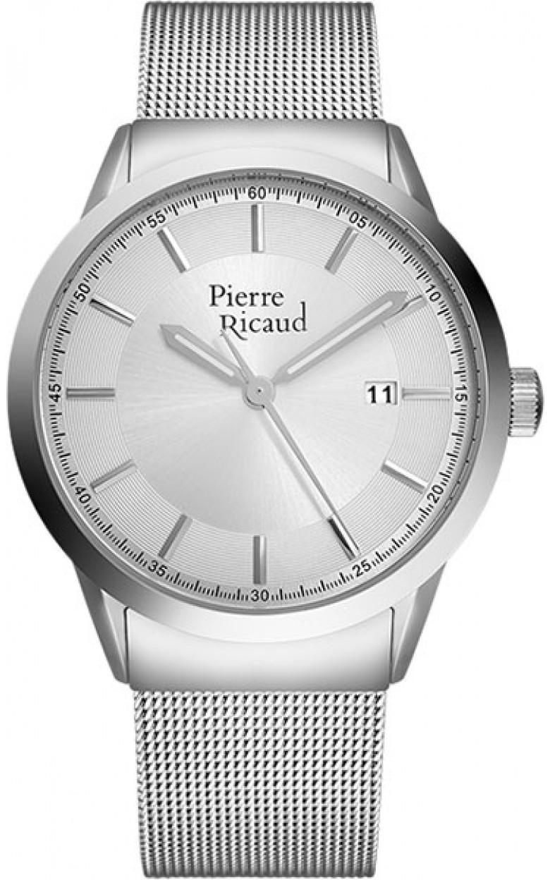 P97250.5113Q  кварцевый хронограф наручные часы Pierre Ricaud для мужчин  P97250.5113Q