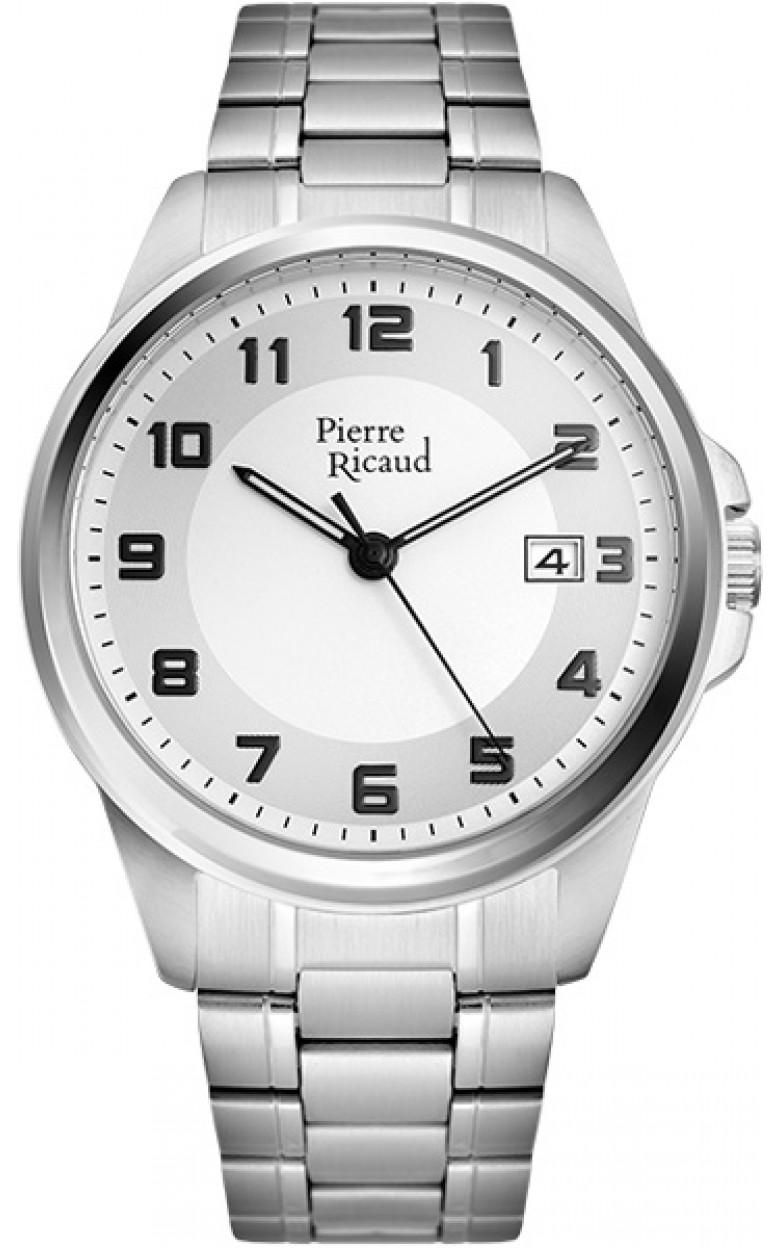 P97242.5123Q  мужские кварцевые наручные часы Pierre Ricaud