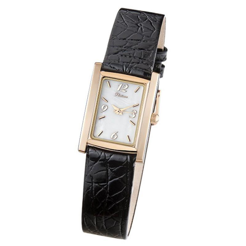 42950.216 Часы наручные Милана кварцевые женские золото 585* 42950.216