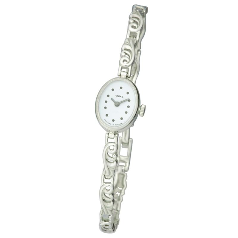 44300-01 Часы наручные кварцевые жен. серебро 925* 44300-01