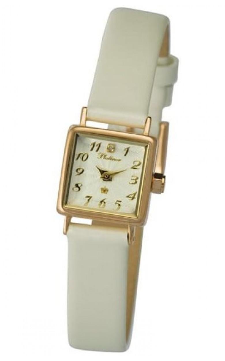 44550.111 российские золотые кварцевые наручные часы Platinor