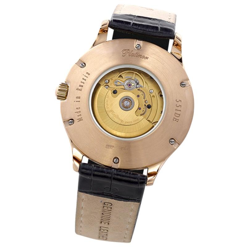 55130.212 российские золотые механические Platinor  55130.212