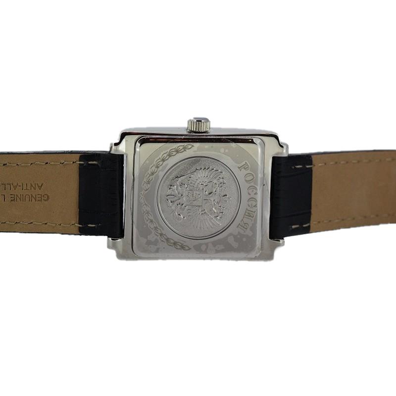 8215/5901424П  механические с автоподзаводом наручные часы Премиум-Стиль логотип Герб РФ  8215/5901424П