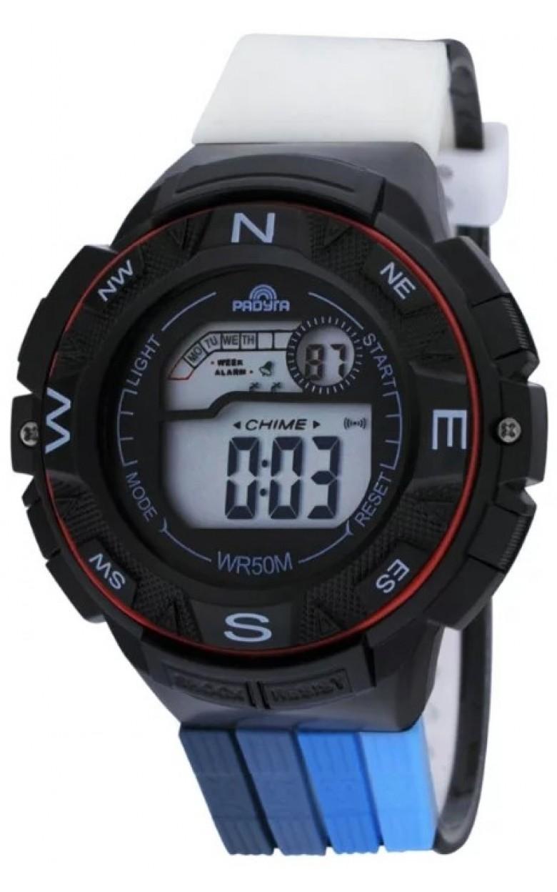 428 красные российские детские кварцевые наручные часы Радуга  428 красные