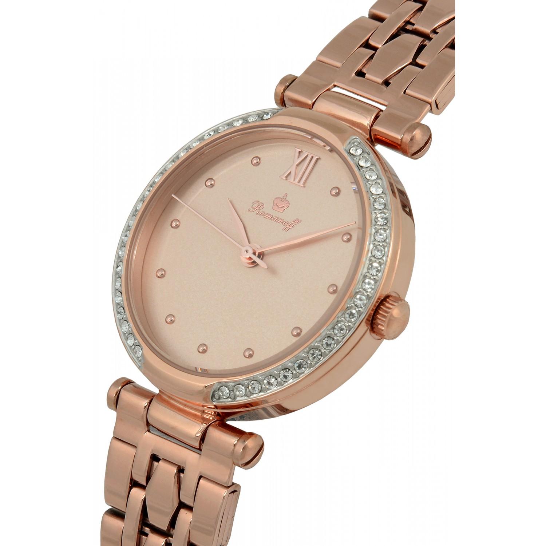100491B7 российские кварцевые наручные часы Romanoff для женщин  100491B7