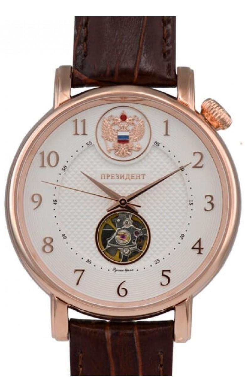 4939043 российские мужские механические часы Президент логотип Герб РФ  4939043