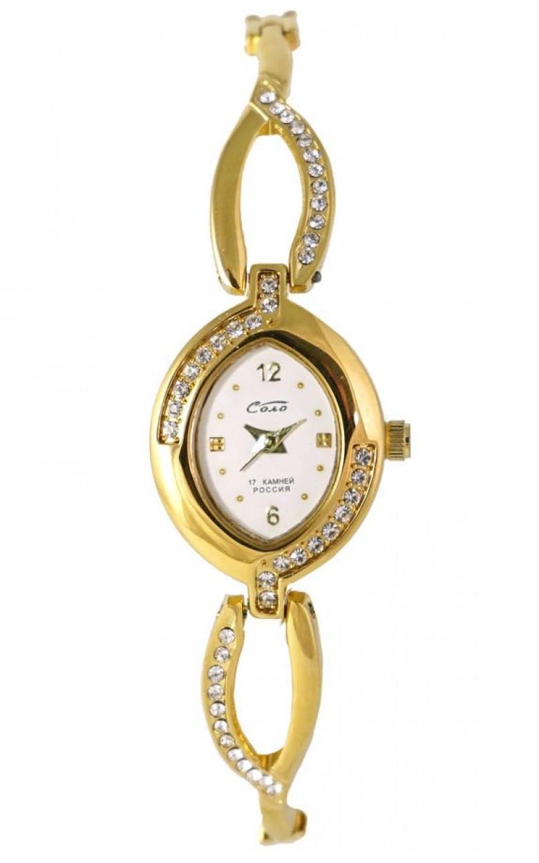 1509В.1С/05431320 российские механические наручные часы Соло для женщин  1509В.1С/05431320