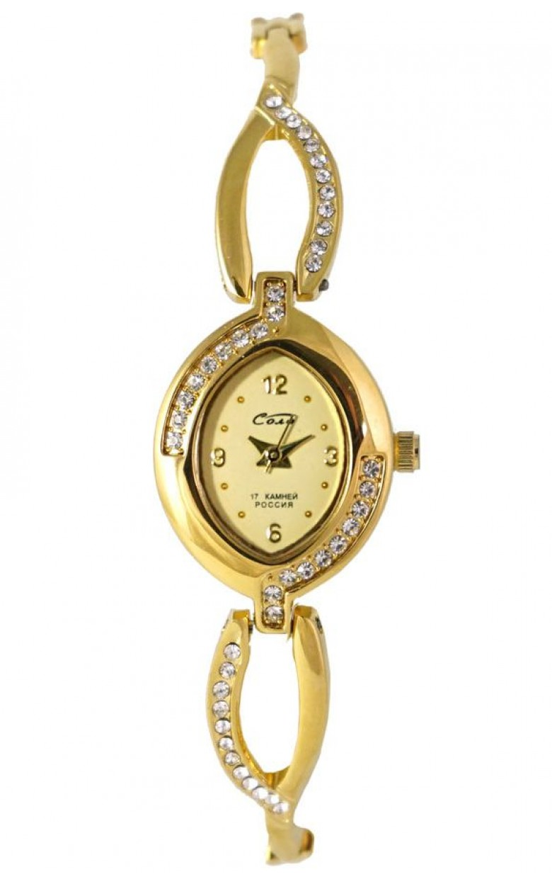 1509В.1С/05431640 российские механические наручные часы Соло для женщин  1509В.1С/05431640