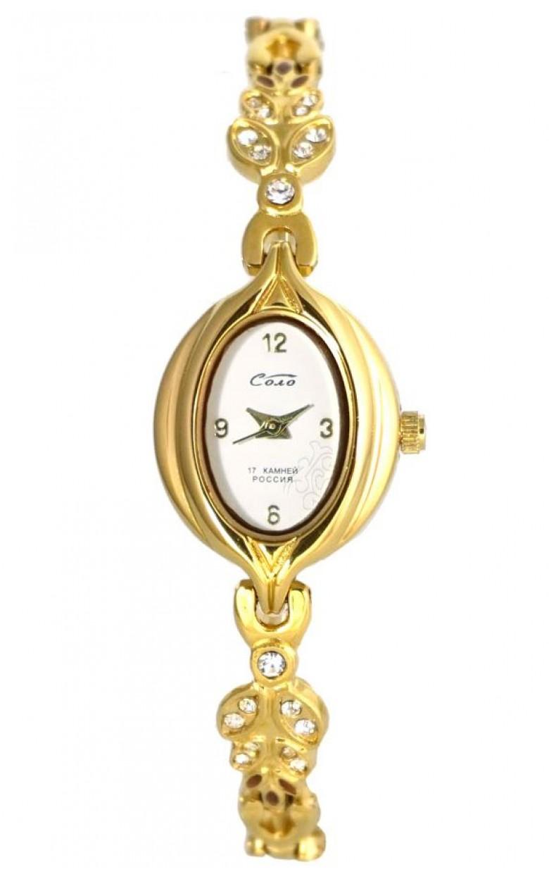 1509В.1С/05531340 российские женские механические наручные часы Соло  1509В.1С/05531340