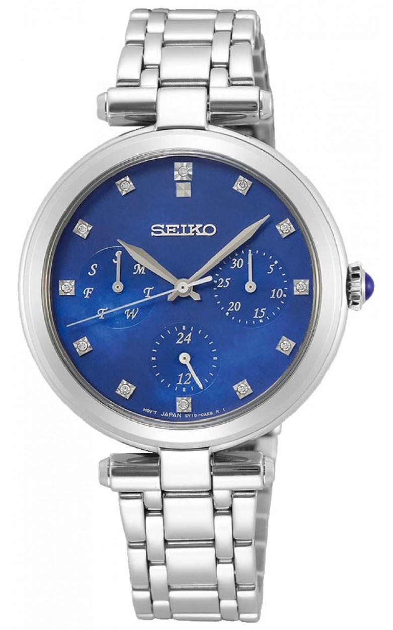 """SKY661P1  водонепроницаемые кварцевые наручные часы Seiko """"Conceptual Series Dress"""" для женщин с сапфировым стеклом SKY661P1"""