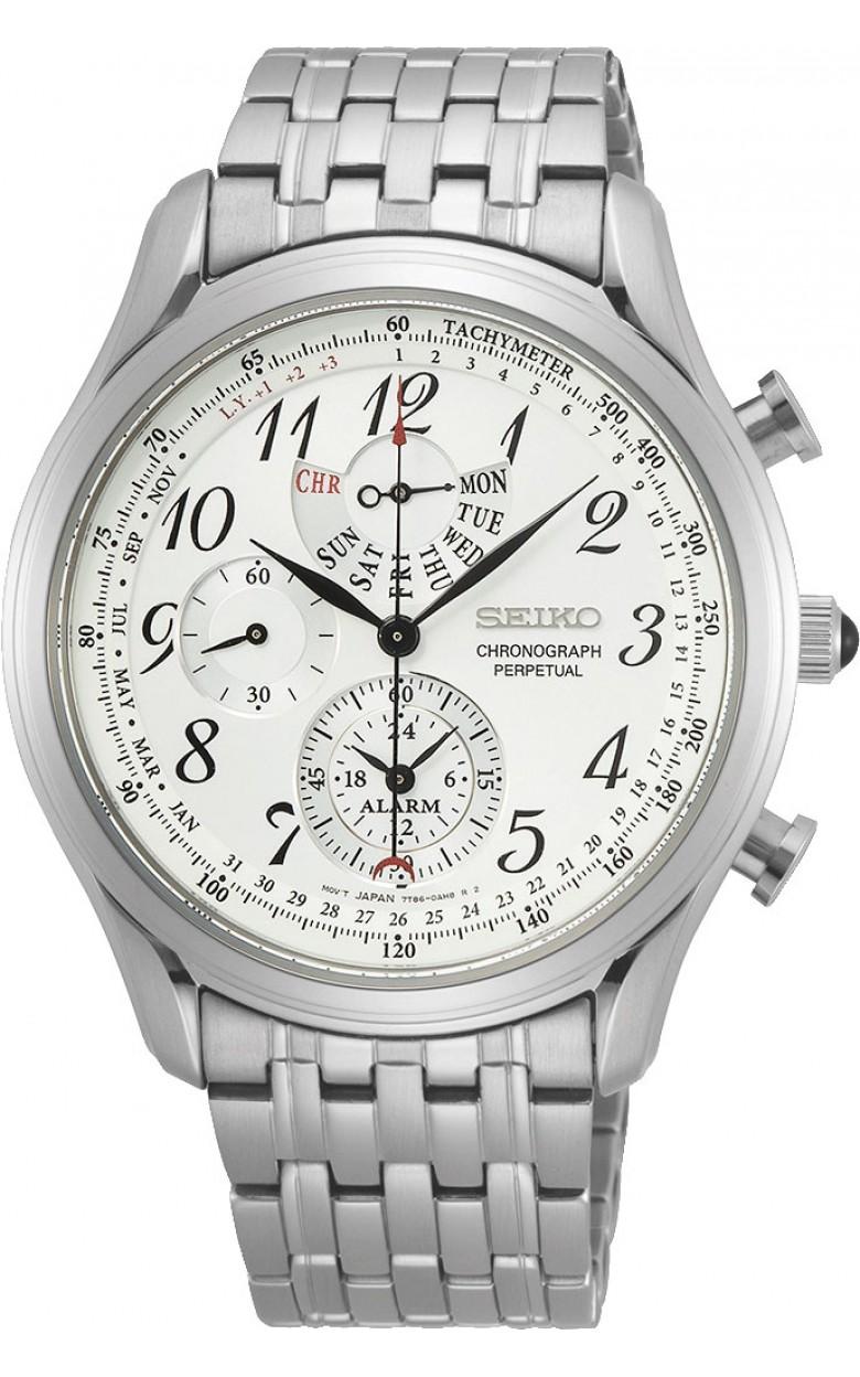 """SPC251P1  водонепроницаемые кварцевые наручные часы Seiko """"Conceptual Series Dress"""" для мужчин с сапфировым стеклом SPC251P1"""