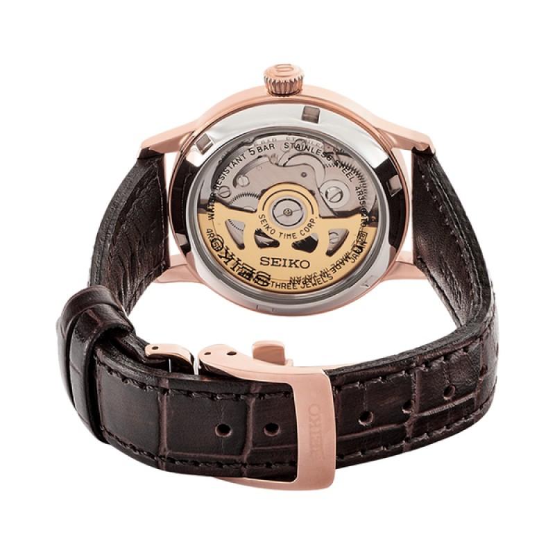 """SRP852J1  водонепроницаемые механические наручные часы Seiko """"Presage"""" для женщин с упрочненным стеклом SRP852J1"""