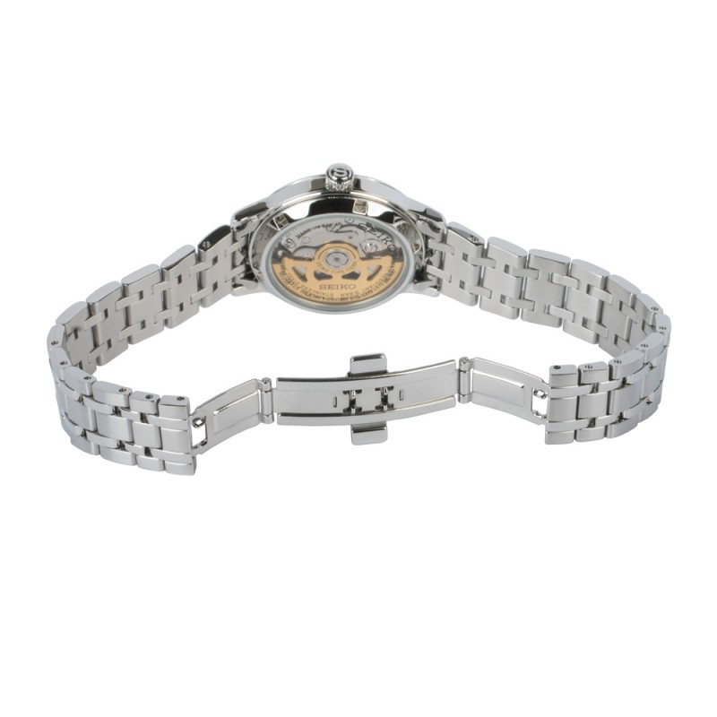 """SRP855J1  водонепроницаемые механические наручные часы Seiko """"Presage"""" для женщин с упрочненным стеклом SRP855J1"""