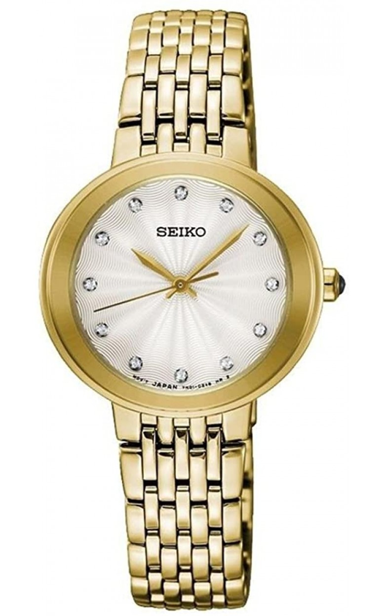 """SRZ504P1  водонепроницаемые кварцевые наручные часы Seiko """"Conceptual Series Dress"""" для женщин с упрочненным стеклом SRZ504P1"""