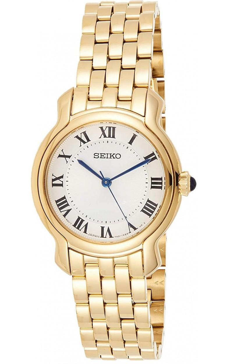 """SRZ520P1  водонепроницаемые кварцевые наручные часы Seiko """"Conceptual Series Dress"""" для женщин с упрочненным стеклом SRZ520P1"""